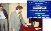 The city's first telematic information service (videotex/Ibertex). Lleida was the third municipal authority in Spain, after Barcelona and Madrid, to introduce this service.