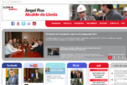 Inauguration of the new website of the Mayor of Lleida