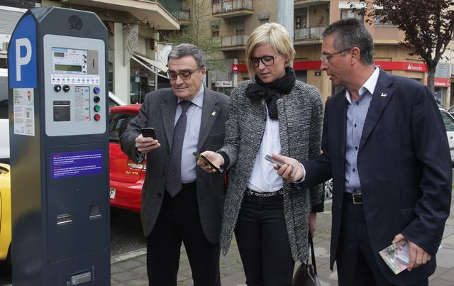 The APP parking meters a year of operation with 281 388 realized using this technology parks