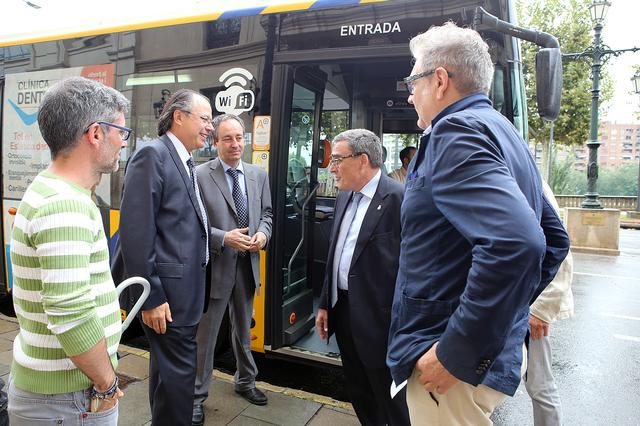 Lleida, Catalonia first city to have free wifi access in the network of municipal buses