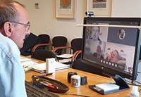 The plenary session of the Paeria will be held next Tuesday for the first time via video conference